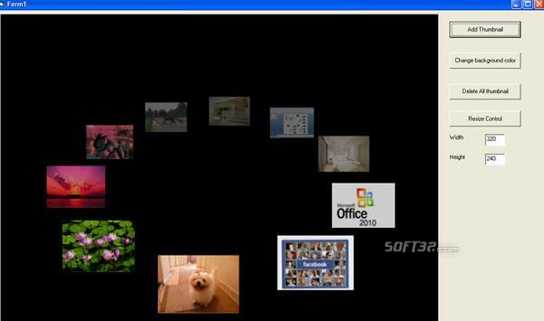 VISCOM 3D Carousel SDK ActiveX Screenshot 3
