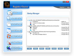 Registry Cleaner by Emulous.com Screenshot