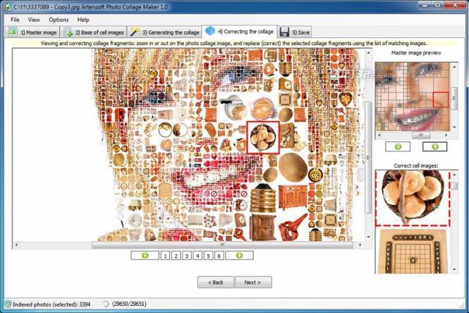 Artensoft Photo Collage Maker Screenshot 3