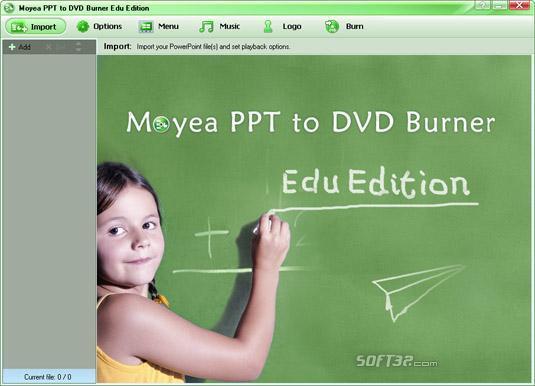 Moyea Christmas PPT to DVD Burner Edu Edition Screenshot 3