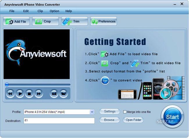 Anyviewsoft iPhone Video Converter Screenshot 3