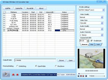 DDVideo Wii Video Converter Gain Screenshot