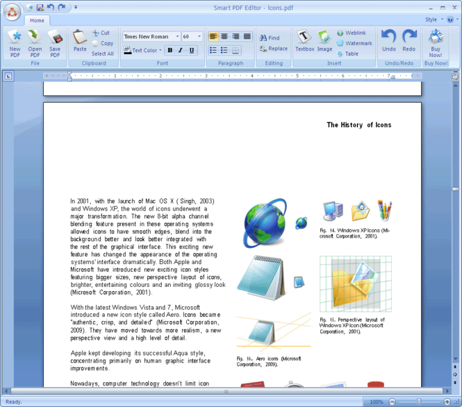 Smart PDF Editor Screenshot