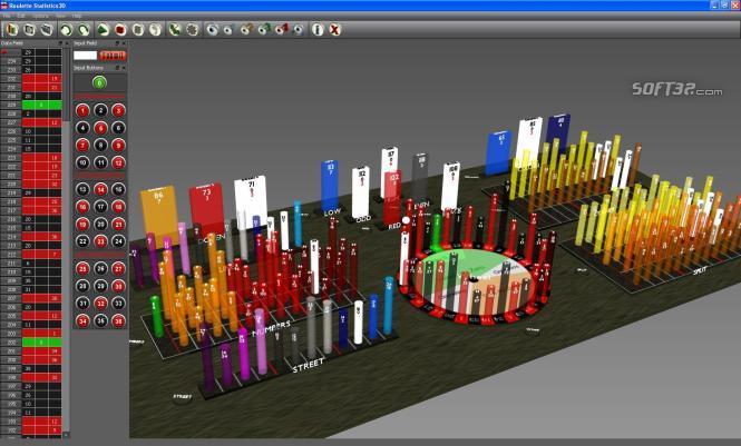 Roulette Statistics3D Screenshot 2