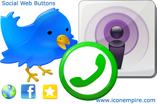 Social Web Buttons Screenshot 1