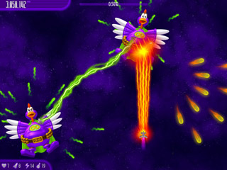 Chicken Invaders 4 Mac Screenshot