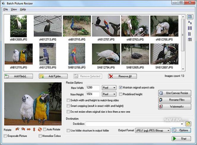 Batch Picture Resizer Screenshot 2