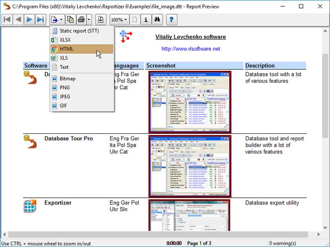 Database Tour Pro Screenshot