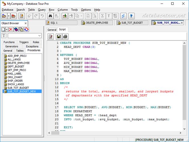 Database Tour Pro Screenshot 7