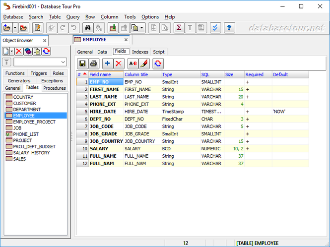 Database Tour Pro Screenshot 10