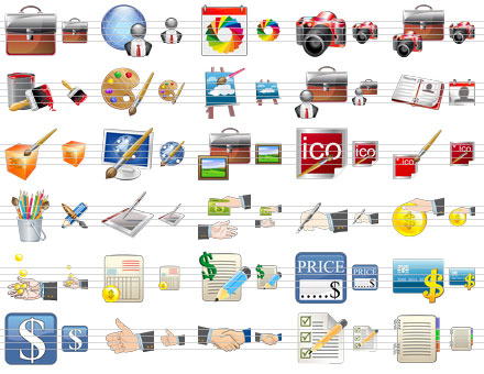 Standard Portfolio Icons Screenshot