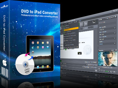 mediAvatar DVD to iPad Converter for Mac Screenshot