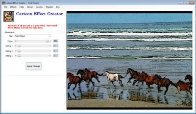 Cartoon Effect Creator Screenshot