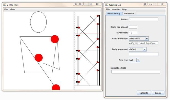 Juggling Animation Creator Screenshot 1