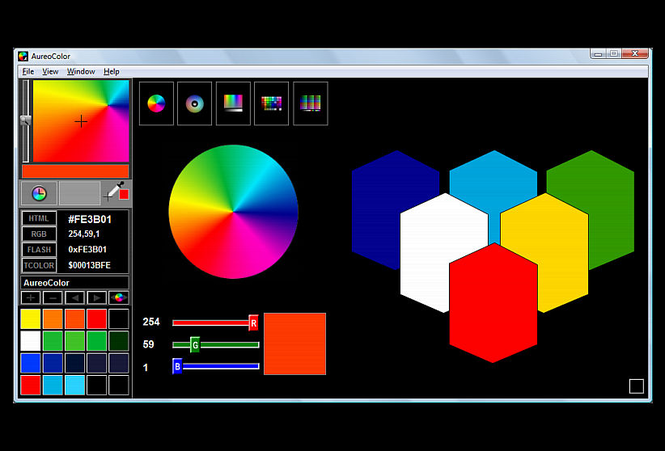 AureoColor Screenshot