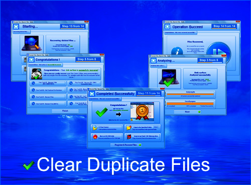 Clear Duplicate Files Screenshot