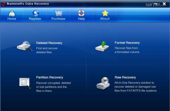 Namosofts Data Recovery Screenshot 2
