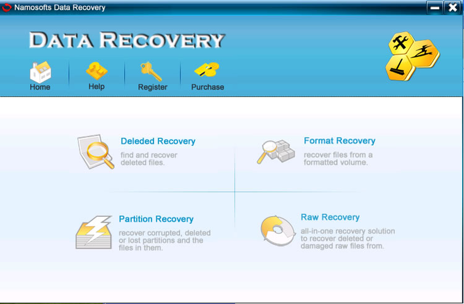 Namosofts Data Recovery Screenshot 3