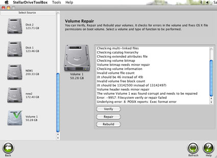Partition Mac Screenshot