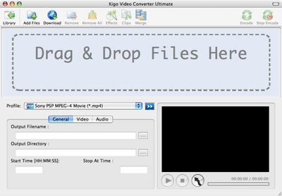 Kigo Video Converter Ultimate for Mac Screenshot
