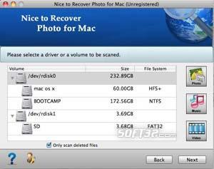 Nice to Recover Photo for Mac Screenshot 2