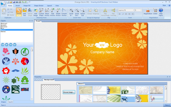 Download smartsyssoft business card maker 280 screenshots of smartsyssoft business card maker reheart Choice Image