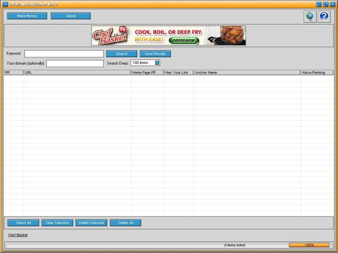 Dofollow Blog Hunter Screenshot 1