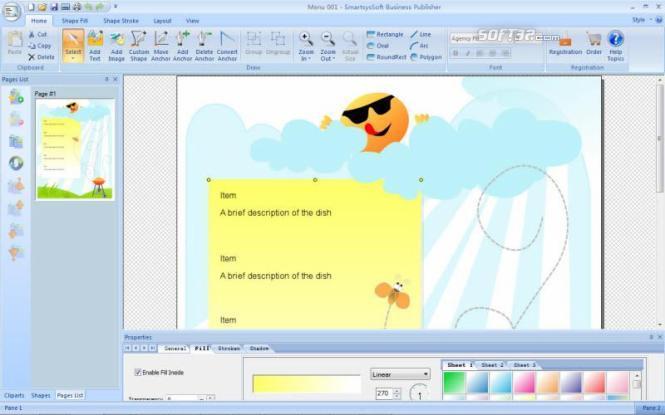 SmartsysSoft Business Publisher Screenshot 3