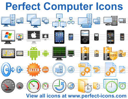 Perfect Computer Icons Screenshot 1