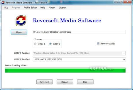 ReverseIt Media Software Screenshot 3