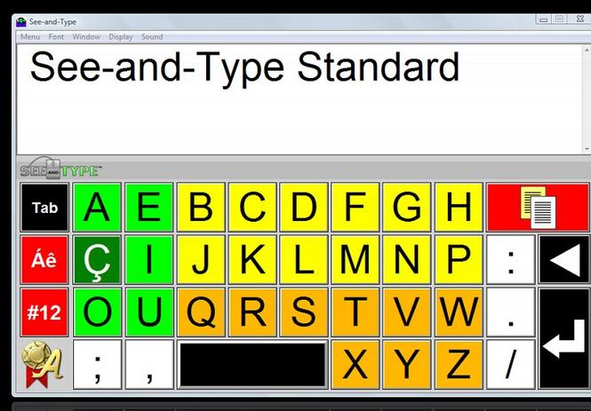 See-and-Type Screenshot 1