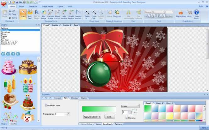 SmartsysSoft Greeting Card Designer Screenshot 2