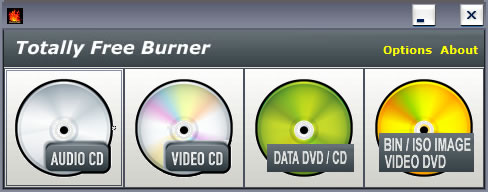 Totally Free Burner Screenshot 1