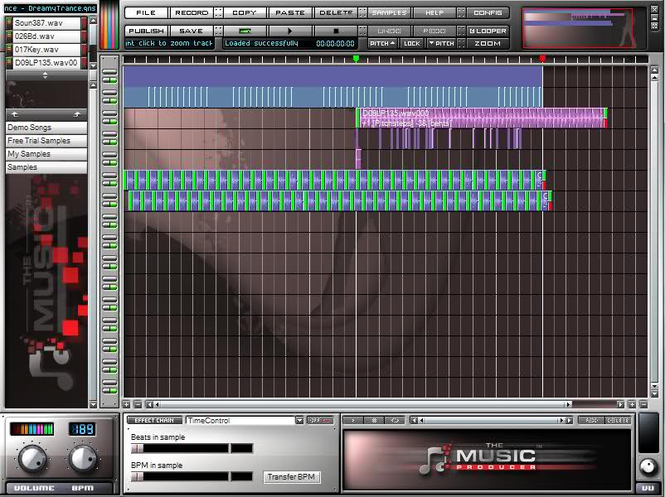 The Music Producer Screenshot