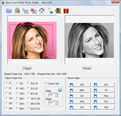 Black And White Photo Maker Screenshot