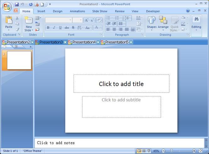Super PowerPoint Tab Screenshot