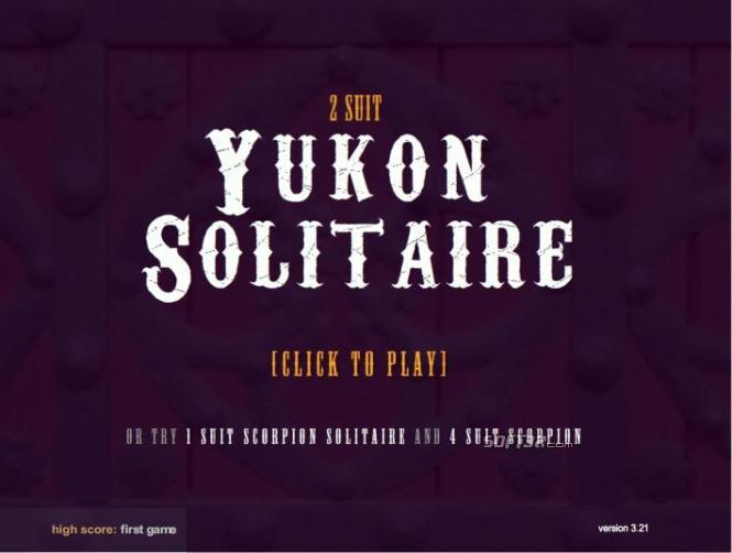 2 Suited Yukon Solitaire Screenshot 3