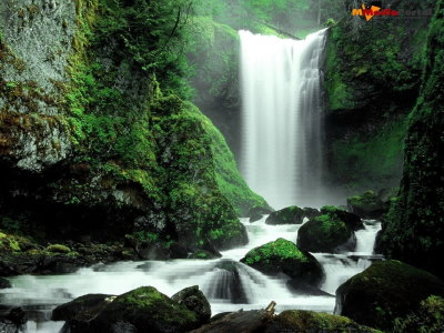 Awesome Waterfall Screensaver Screenshot
