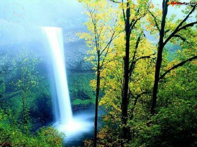 Colourful Waterfall Screensaver Screenshot 1