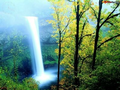 Colourful Waterfall Screensaver 1