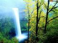 Colourful Waterfall Screensaver 1