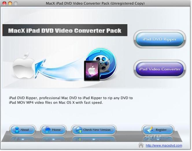 MacX iPad DVD Video Converter Pack Screenshot 3
