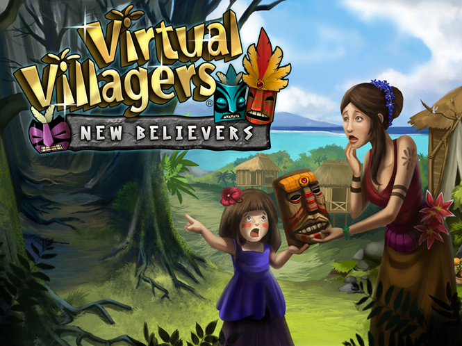 Virtual Villagers 5: New Believers (Mac) Screenshot
