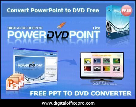 Free PowerPoint to DVD Converter Screenshot 2