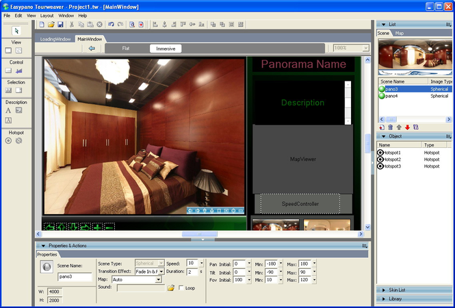 Tourweaver 6.00 Lite Edition for Windows Screenshot