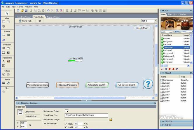 Tourweaver 6.00 Professional for Windows Screenshot 2