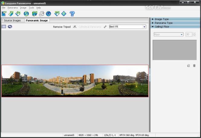 Panoweaver 7.00 Standard for Windows Screenshot 2