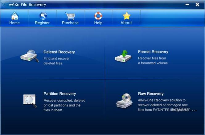 wGXe File Recovery Screenshot 2