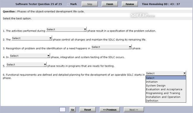 Test Generator Software Standard Edition Screenshot 2
