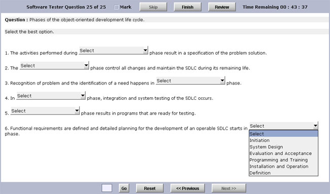 Test Generator Software Standard Edition Screenshot